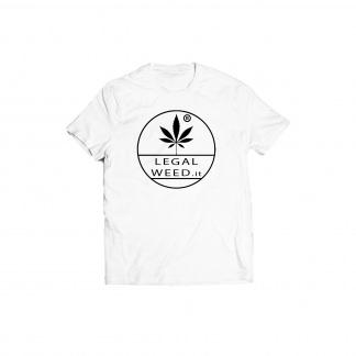 Legal Weed Cannabis Light T-shirt Bianca