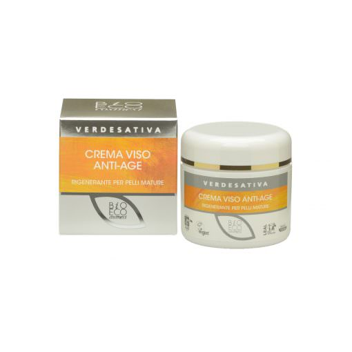 Crema Viso Antiage - Legal Weed - Canapa - Cannabis Light - CBD