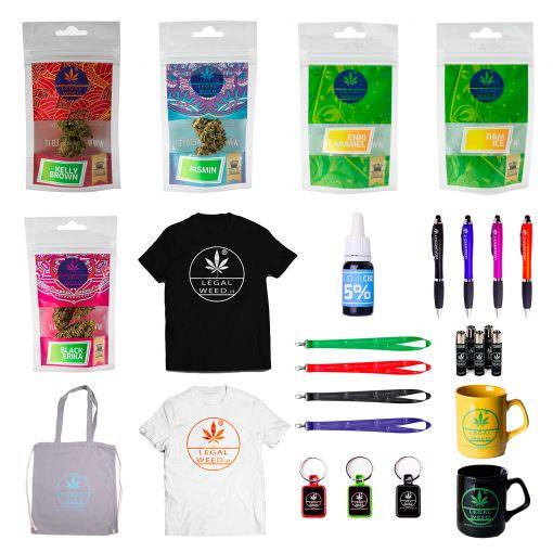 Cannabis Light - CBD Certificato - Legal Weed - Box Completo