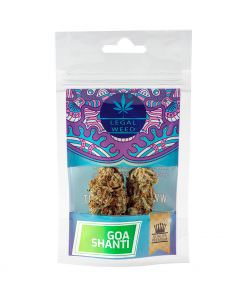 Cannabis Light - Inflorescenze - CBD Certificato - Legal Weed - Goa Shanti