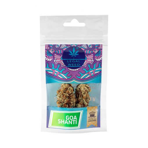 goa shanti legal weed