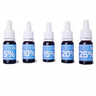 CBD Oil - Cannabis Light - CBD Certificato - Legal Weed - Oli CBD