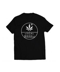 Legal Weed Cannabis Light T-shirt Nera