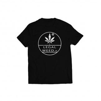 Legal Weed Cannabis Light T-shirt Nera