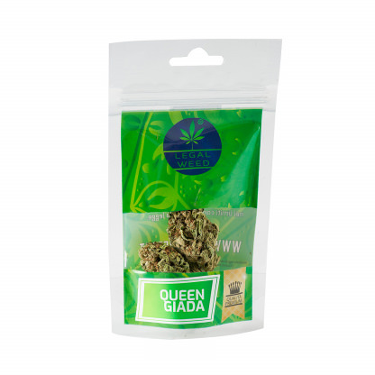 Cannabis Light - Inflorescenze - CBD Certificato - Legal Weed - Queen Giada