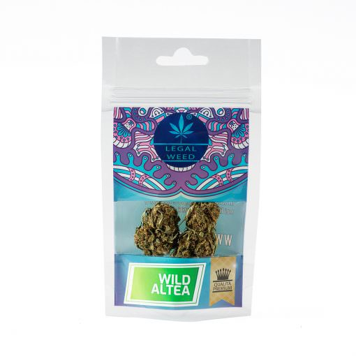 Cannabis Light - Inflorescenze - CBD Certificato - Legal Weed - Wild Altea