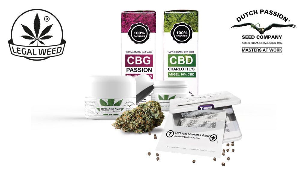 Legal Weed e Dutch Passion CBD nasce una nuova collaborazione