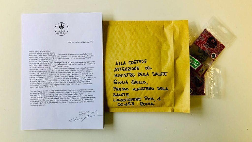 Legal Weed scrive al Ministro della Salute Giulia Grillo