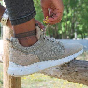scarpe di canapa