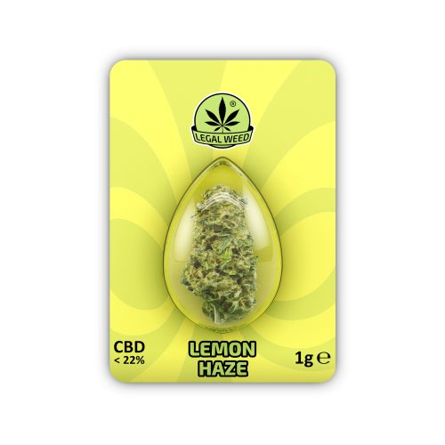 Legal Flower Lemon Haze - By Legal Weed