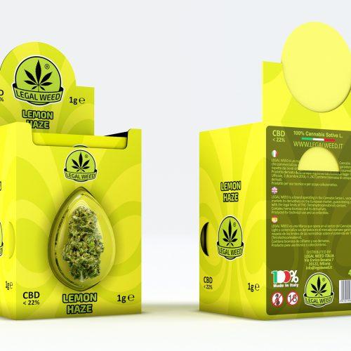 BOX Legal Flower Lemon Haze - by Legal Weed