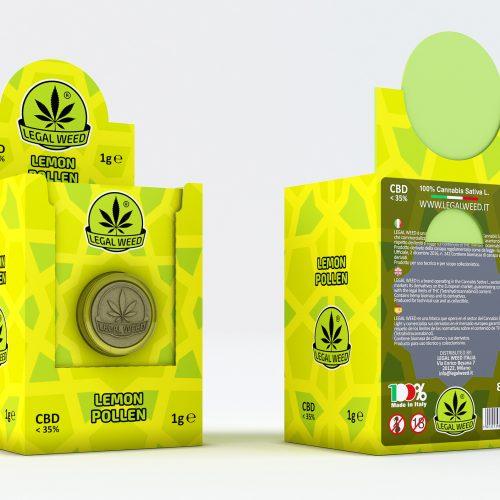 BOX Lemon Pollen