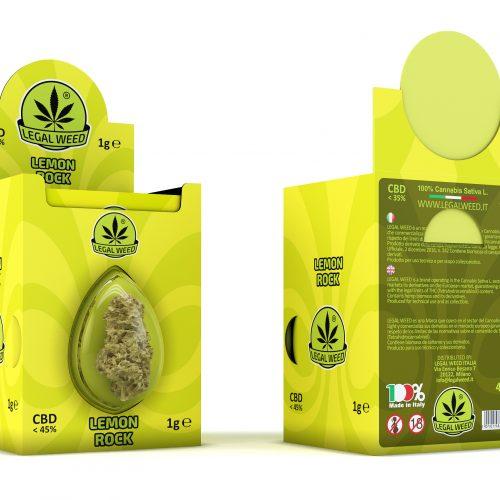 box lemon rock - by legal weed