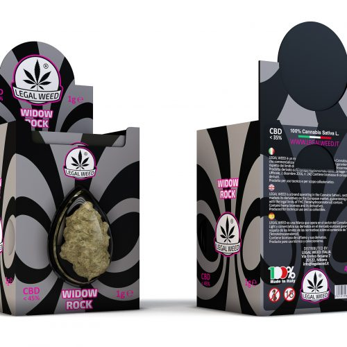 box widow rock- by legal weed