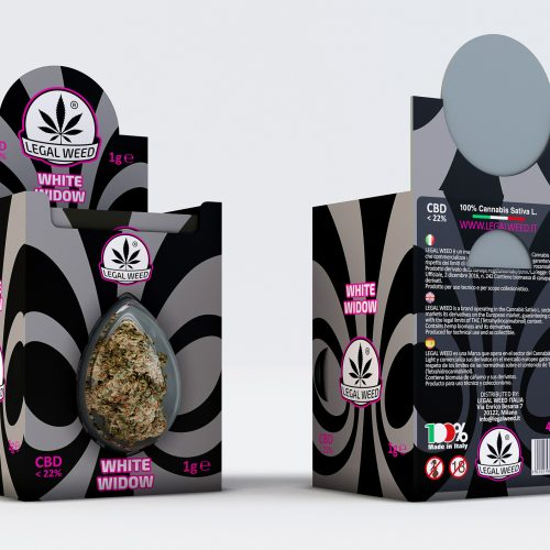 BOX Legal Flower White Widow - By Legal Weed