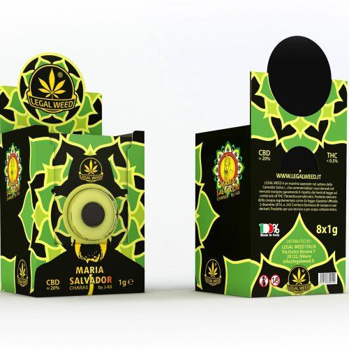 BOX Maria Salvador Legal Charas by J-Ax