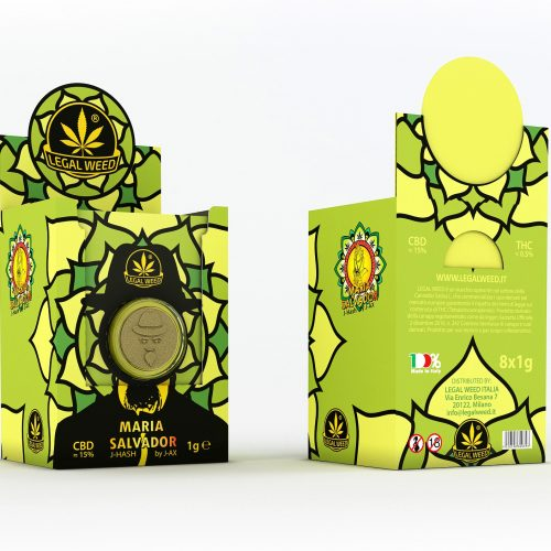 BOX Maria Salvador Legal Pollen by J-Ax
