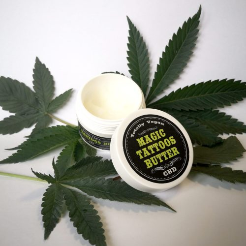 Magic TATTOOS Butter by legal weed