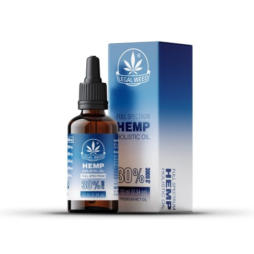 holistic oil 30% by legal weed